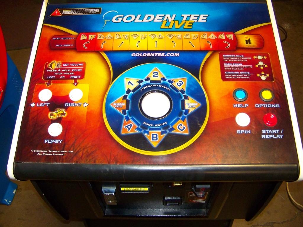 Lot 17 - GOLDEN TEE LIVE 2009 I.T. PEDESTAL CABINET