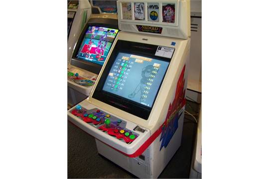 neo geo neo 25 candy cabinet jamma arcade item is in used condition