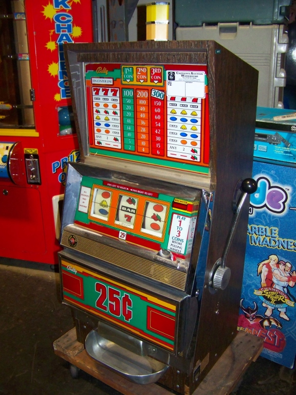 antique slot machine 25 cent for sale