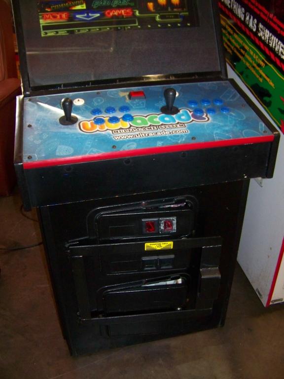 Lot 36 - ULTRACADE MULTI UPRIGHT ARCADE GAME LCD MONITOR