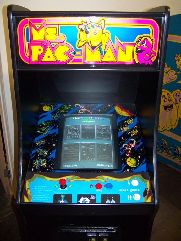 "Lot 7 - MULTICADE 48 IN 1 CLASSIC ARCADE GAMES 19"" MONITOR"