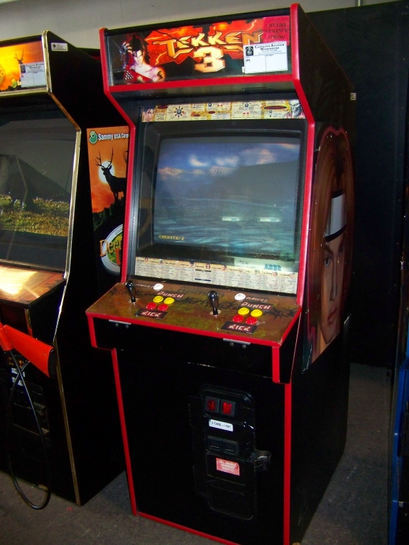 Tekken 3 Fighting Arcade Game Namco Item Is In Used Condition Evidence Of Wear And Commercial O