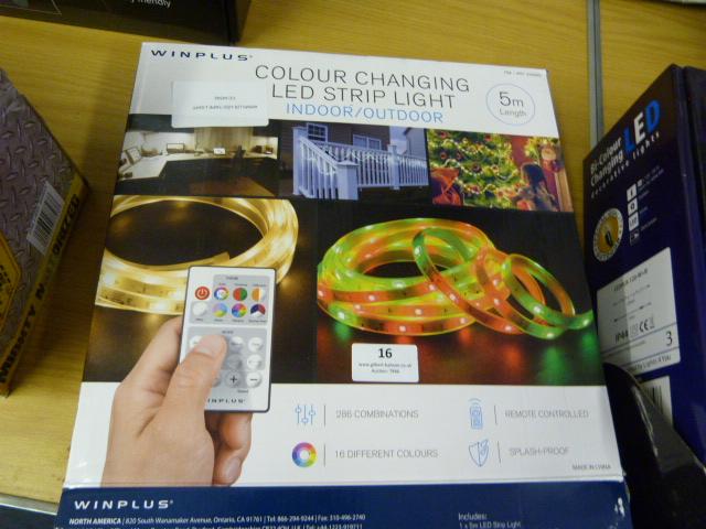 Lot 16 - *Winplus LED Tape Light