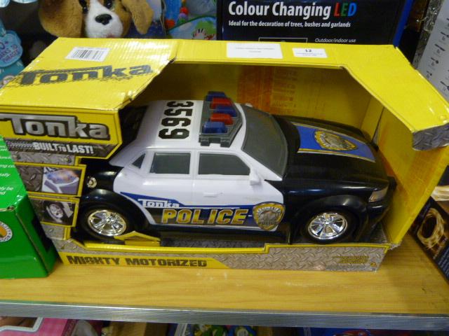 Lot 12 - *Tonka Mighty Motorized Police Vehicle