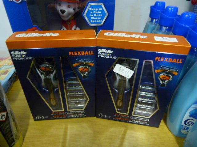 Lot 29 - *Gillette Fusion Proglide Flexball Shaving Set