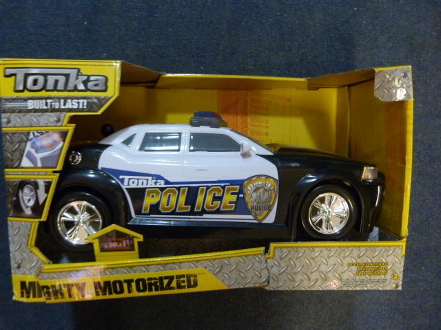 Lot 54 - *Tonka Mighty Motorized Police Vehicle