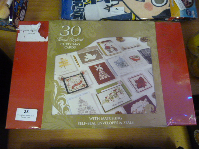 Lot 23 - *Handmade Greetings Cards 30pk