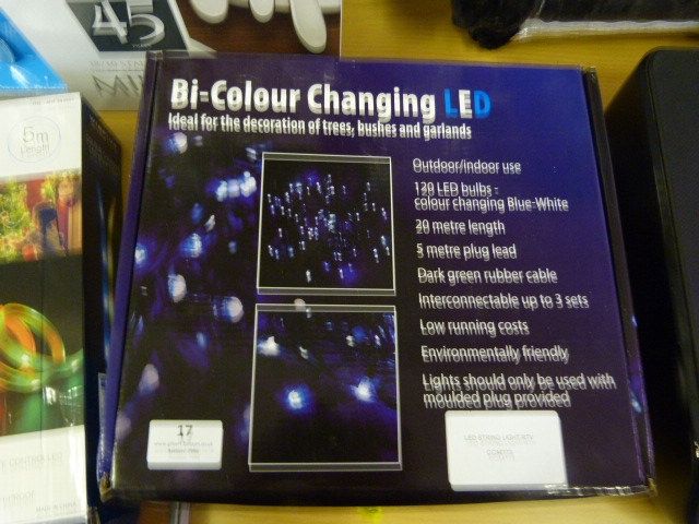 Lot 17 - *LED String Light RTV