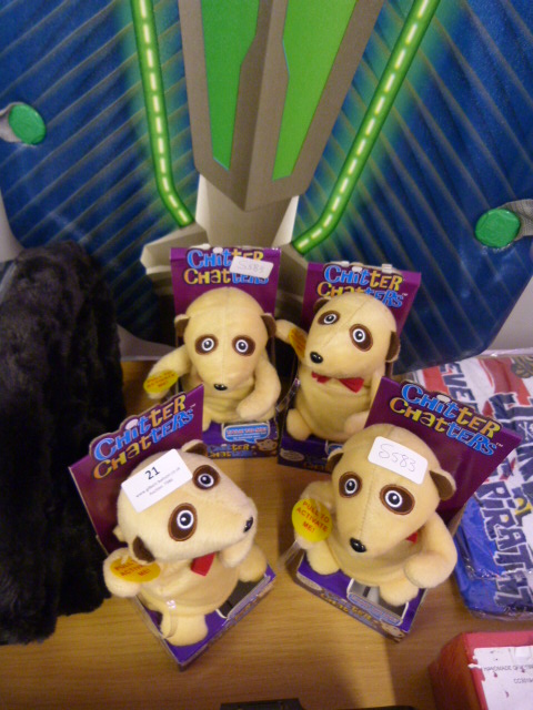Lot 21 - *Four Chitter Chatters Meerkats