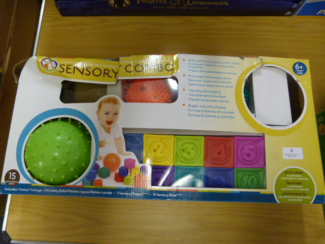 Lot 5 - *Sensory Shapes & Bloxx