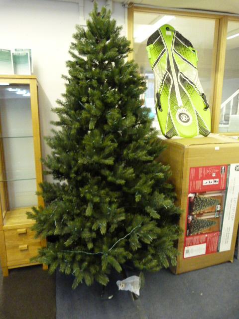 Lot 1 - *Christmas Tree 2.2m/7.5ft