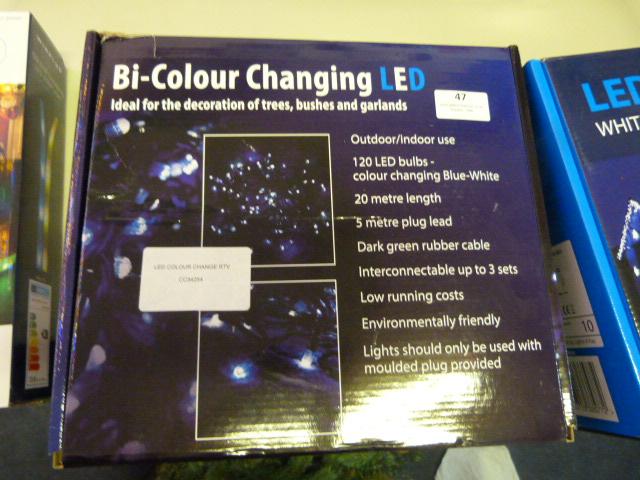 Lot 47 - *LED Colour Change RTV
