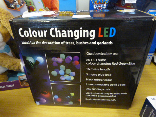 Lot 11 - *LED Colour Change RTV