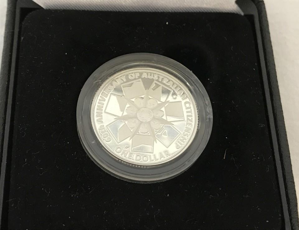 Lot 73 - Boxed Mint silver proof Australian Dollar.