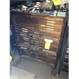 Hamilton 25-Drawer Wood Fonts Cabinet