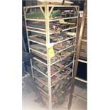 9-Shelf Metal Cabinet