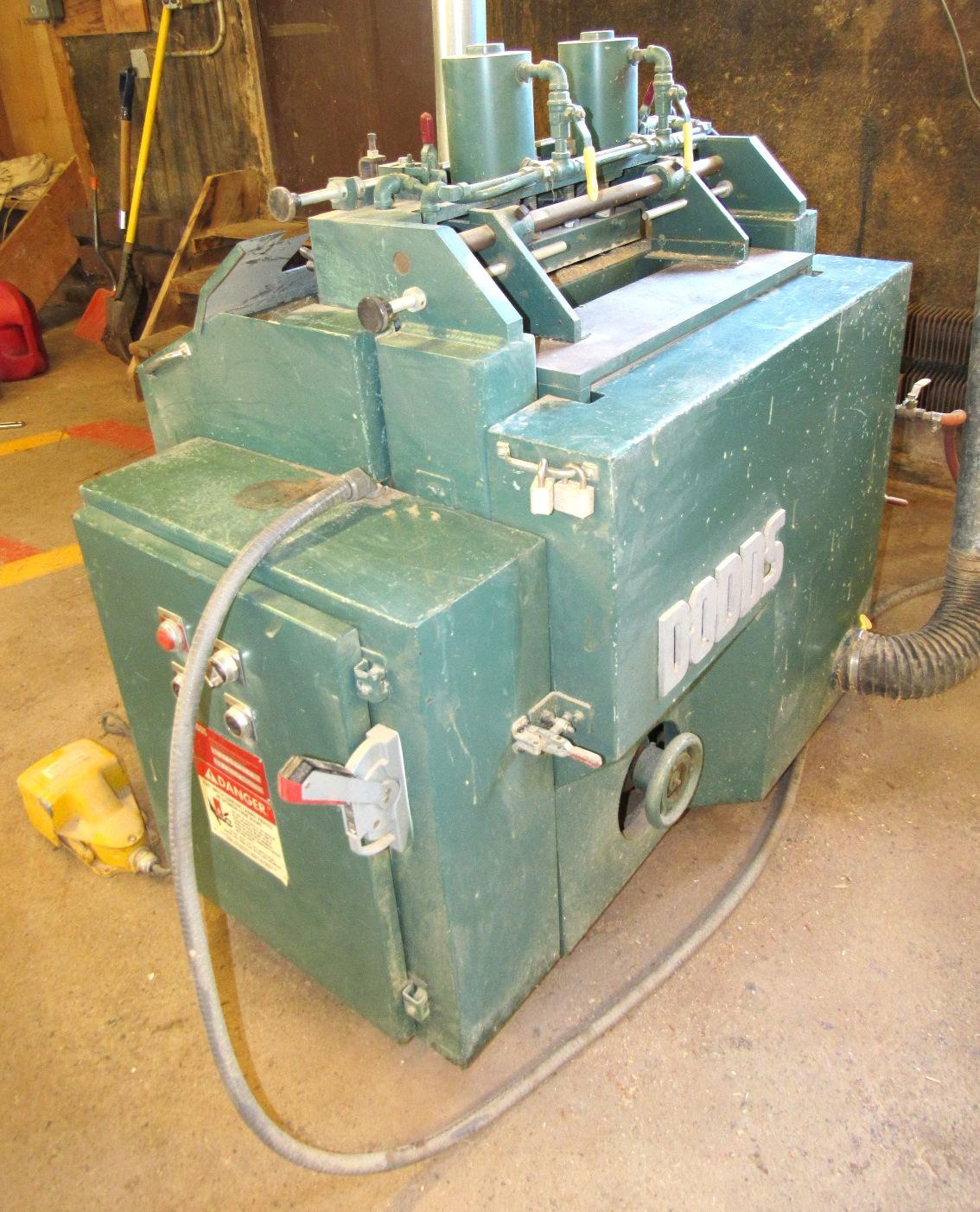 Lot 25 - Dodds Mod. SE-15 DoveTailer - S/N D 8874-196