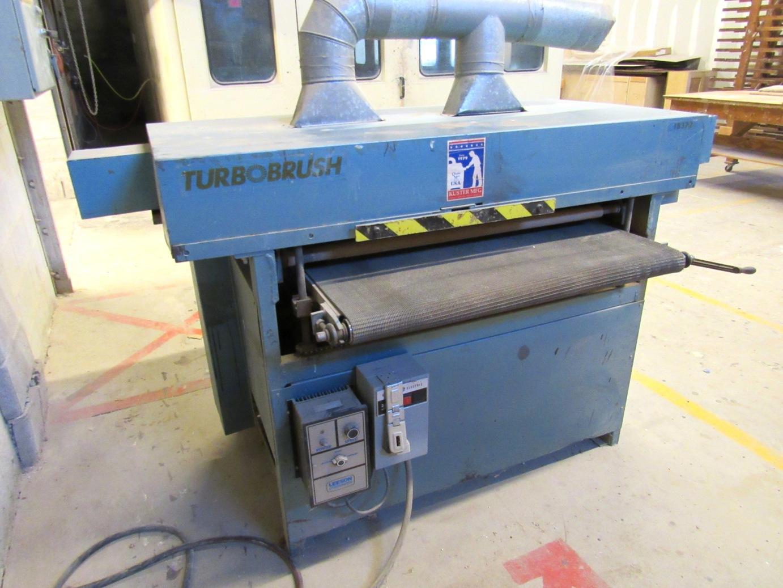 "Lot 30 - Turbo Brush Mod.TB372 37"" Finishing Machine"