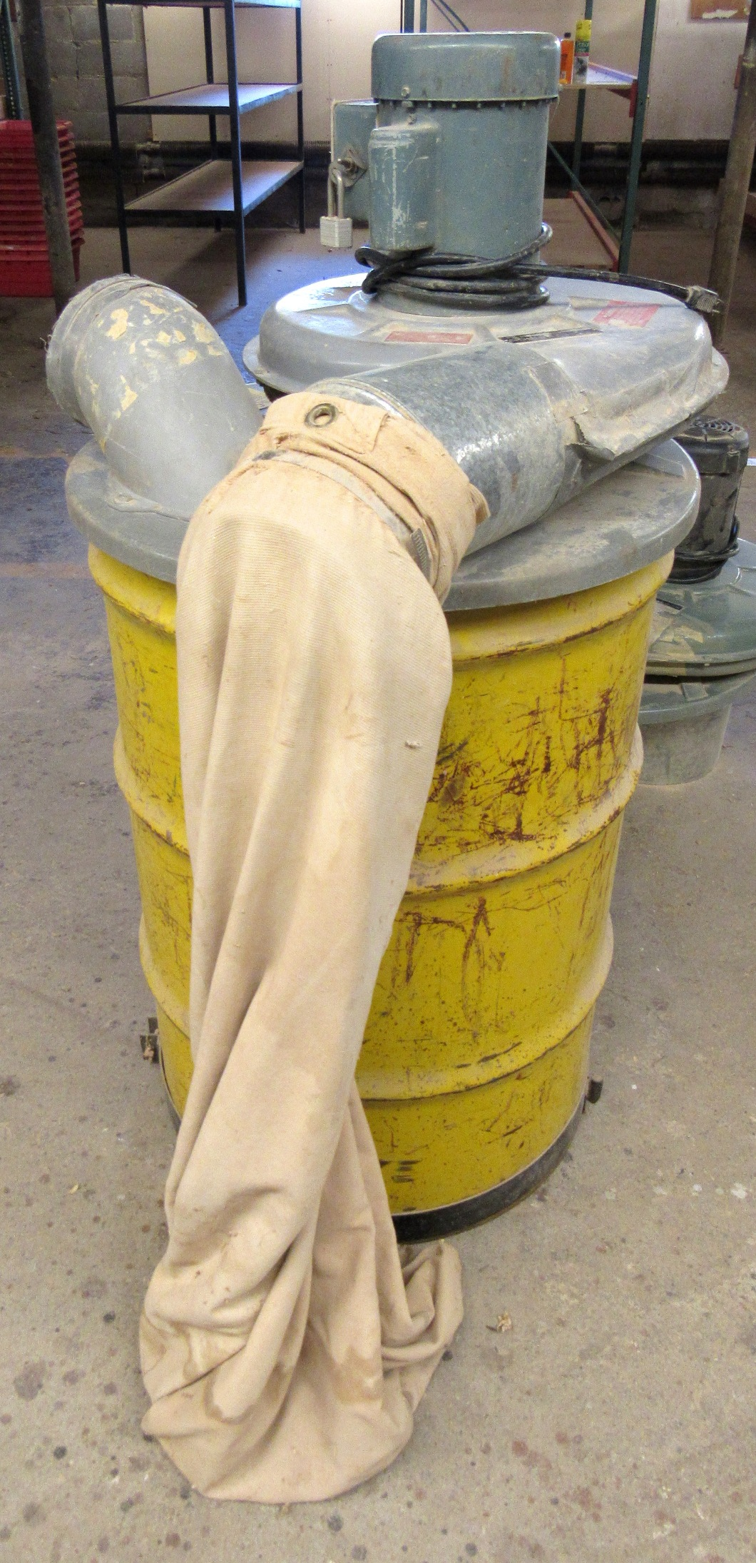 Lot 10 - Delta Mod. 50-180 1HP Single Phase Drum Dust Collector