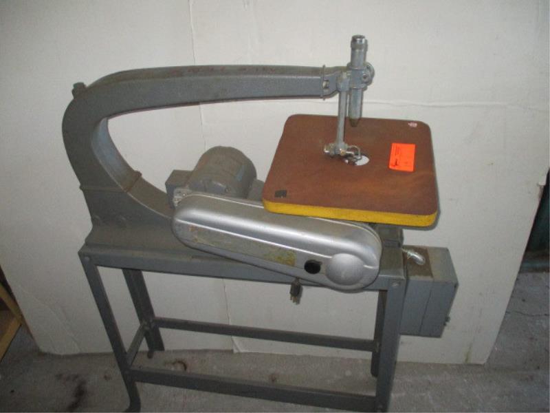 Rockwell-Delta Scroll Saw, 110 Volt, 1/3 HP - Pickup: Murphy Storage