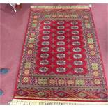 A machine made Bokhara carpet by Bossan, 234 x 164cm