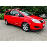 VAUXHALL ZAFIRA 1.6i ENERGY (2010) RED *7 SEATER*