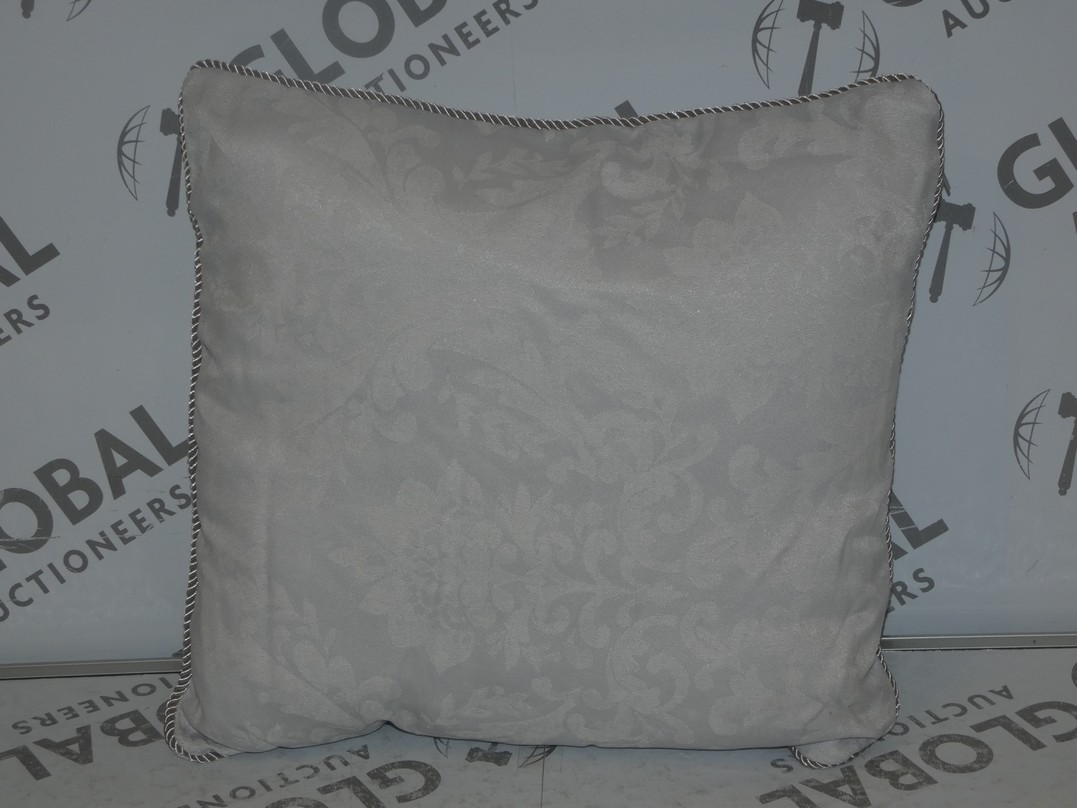 Lot 33 - Lot to Contain 3 Serene Blue and White Designer Scatter Cushions (8771)