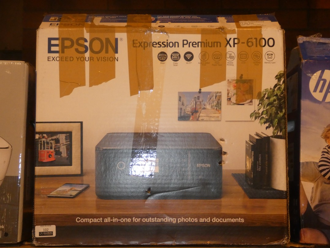 Lot 102 - Boxed Epson Expression Premium 6100 All In One Printer, Scanner, Copier RRP £80 (772551)