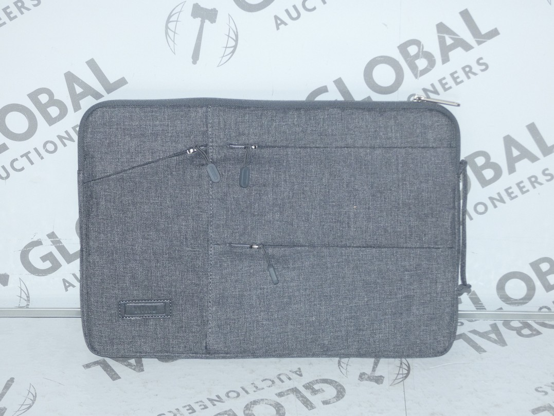 Lot 109 - Lot to Contain 5 Brand New Wiwu Grey Executive Laptop Bags