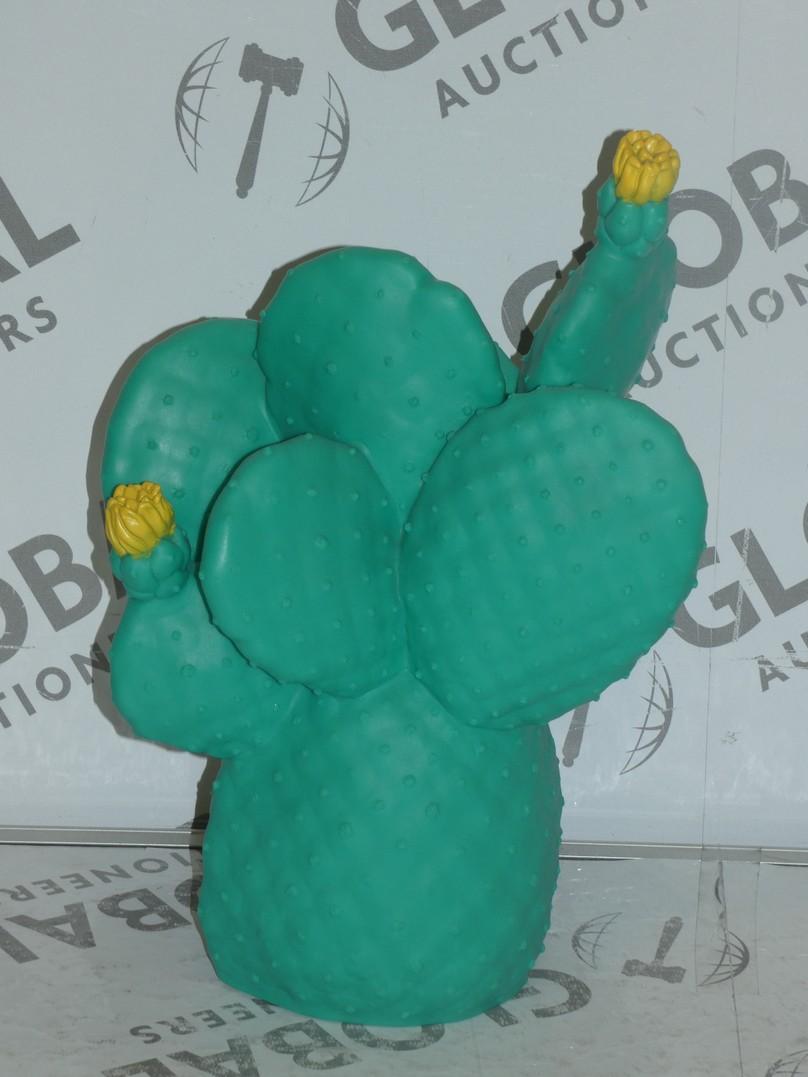 Eva Newton Cactus Neon Light Plug In Lamp RRP £95