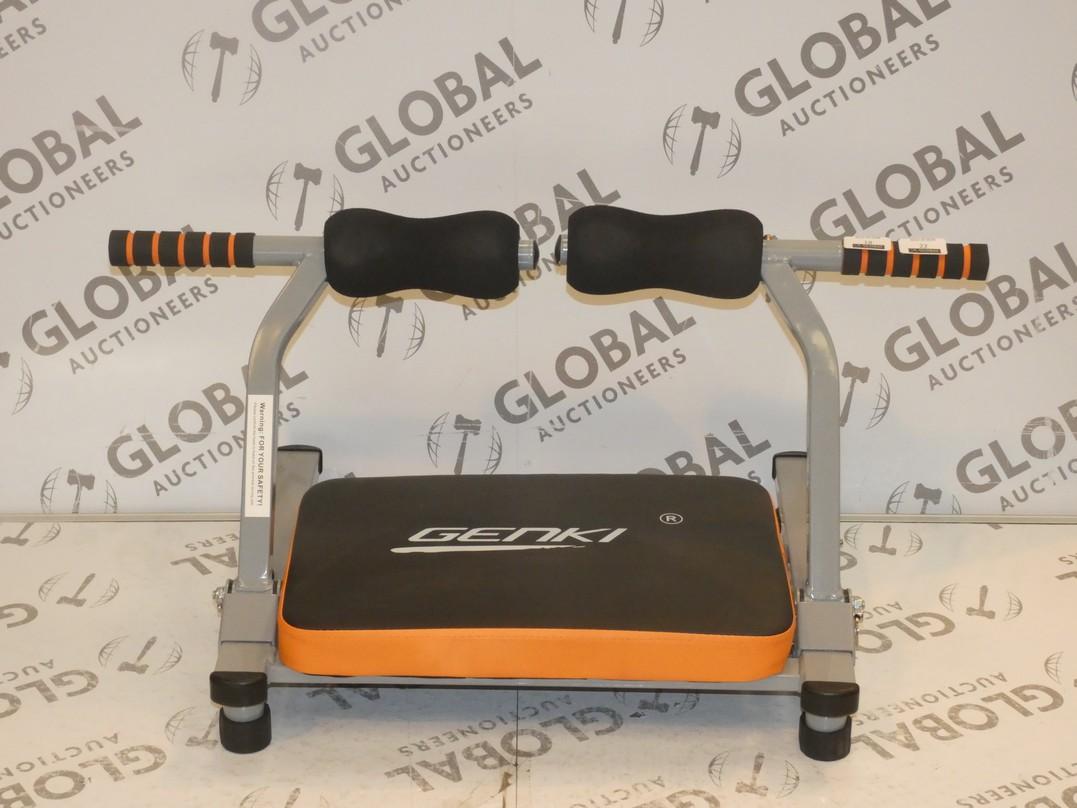 Lot 21 - Boxed Brand New Genki Ab Exercise Machine RRP £35