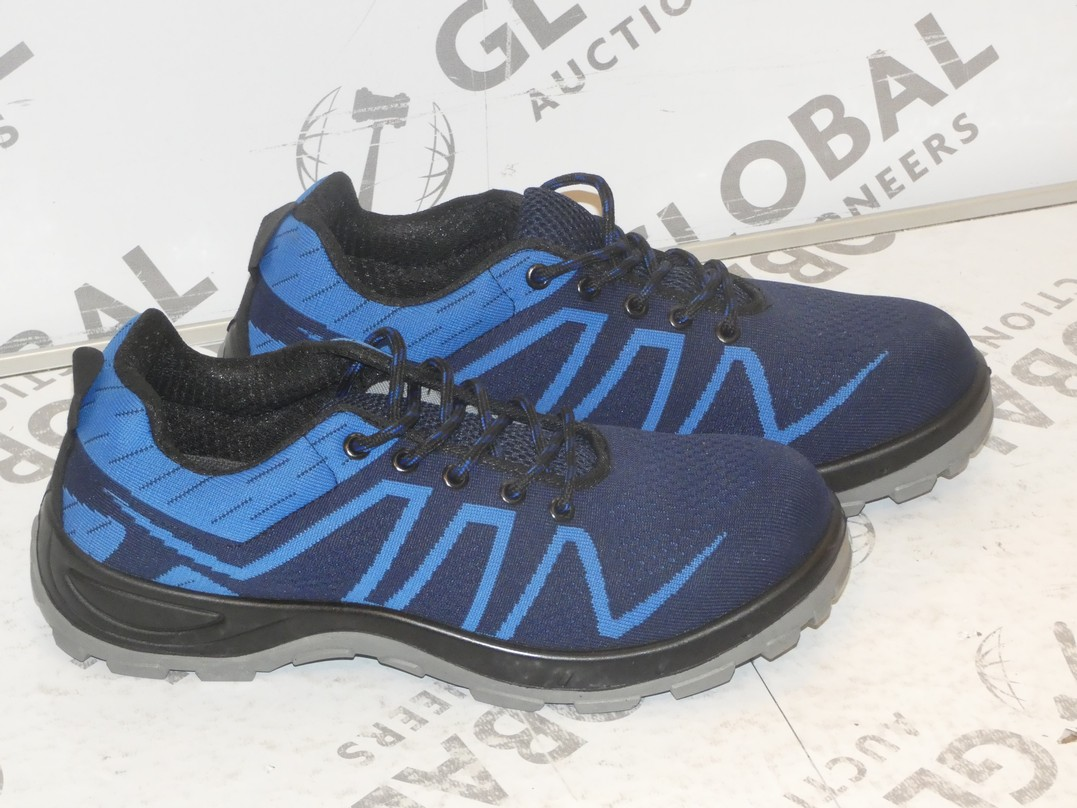 Lot 13 - Lot to Contain 2 Brand New Pairs of Easy Safe Steel Toe Cap Safety Trainers in Sizes EU40 and EU44