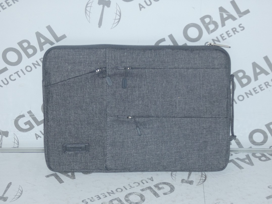 Lot 108 - Lot to Contain 5 Brand New Wiwu Grey Executive Laptop Bags
