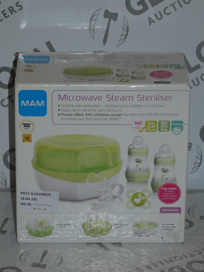 Lot 73 - Boxed Microwaveable Steam Steriliser RRP £30 (773384)