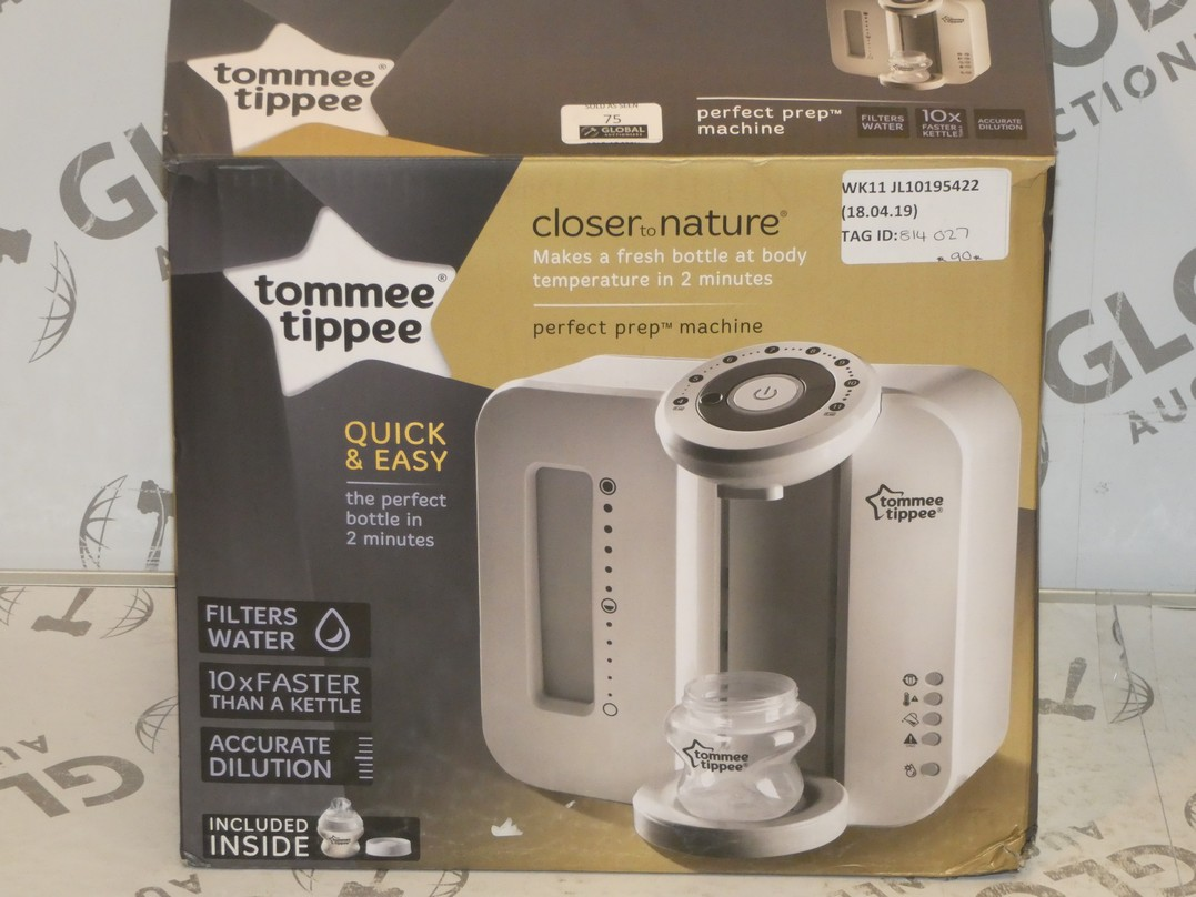 Lot 75 - Boxed Tommee Tippee Closer To Nature Perfect Preparation Bottle Warming Station RRP £90 (814027)