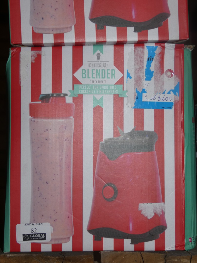 Lot 82 - Lot to Contain 4 Boxed Assorted Cookshop Items to Include 3 Cookshop Blenders and 1 Cookshop