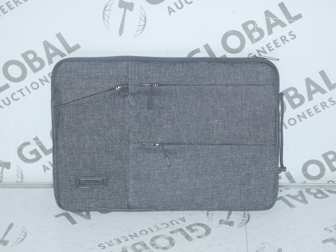 Lot 110 - Lot to Contain 5 Brand New Wiwu Grey Executive Laptop Bags
