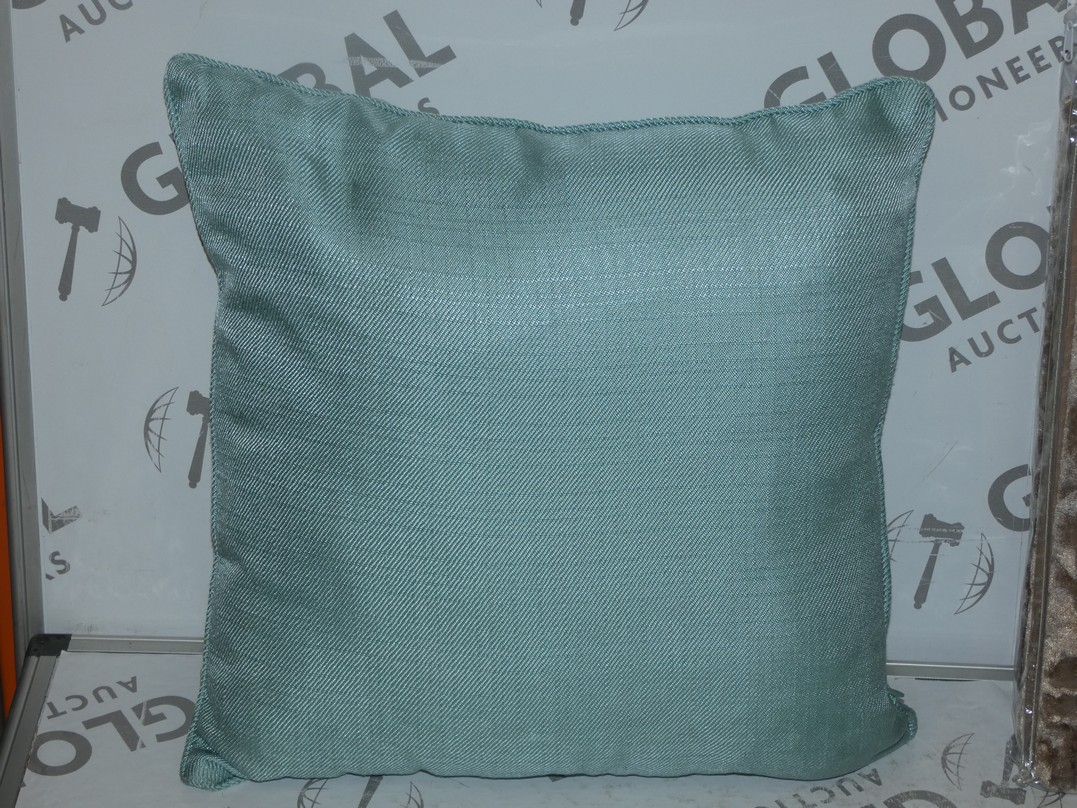 Lot 63 - Lot to Contain 3 Assorted Designer Scatter Cushions by Paoletti and Peony Combined RRP £60 (