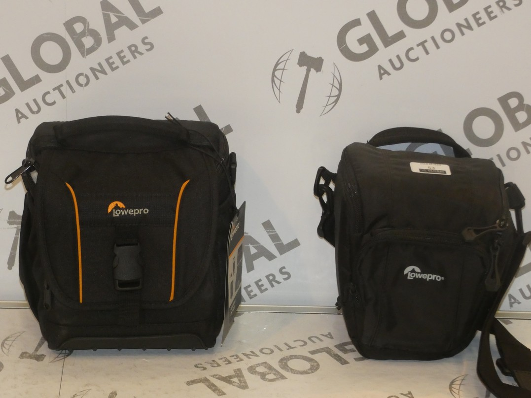 Lot 53 - Lot to Contain 2 Lowepro SLR Camera Accessory Bags