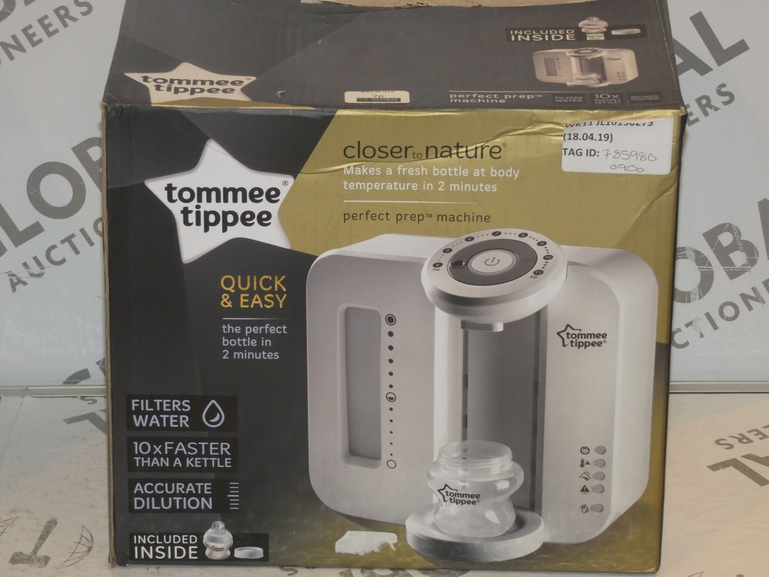 Lot 76 - Boxed Tommee Tippee Closer To Nature Perfect Preparation Bottle Warming Station RRP £90 (785980)