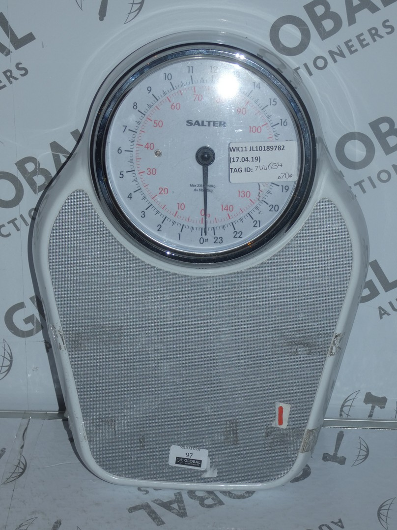 Lot 97 - Pair of Salter Academy Mechanical Weighing Scales RRP £70 (844654)