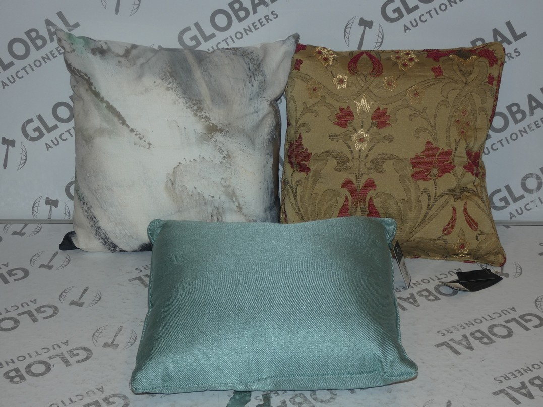 Lot 7 - Lot to Contain 3 Assorted Designer Scatter Cushions by Paoletti and Artist Lane (11238)