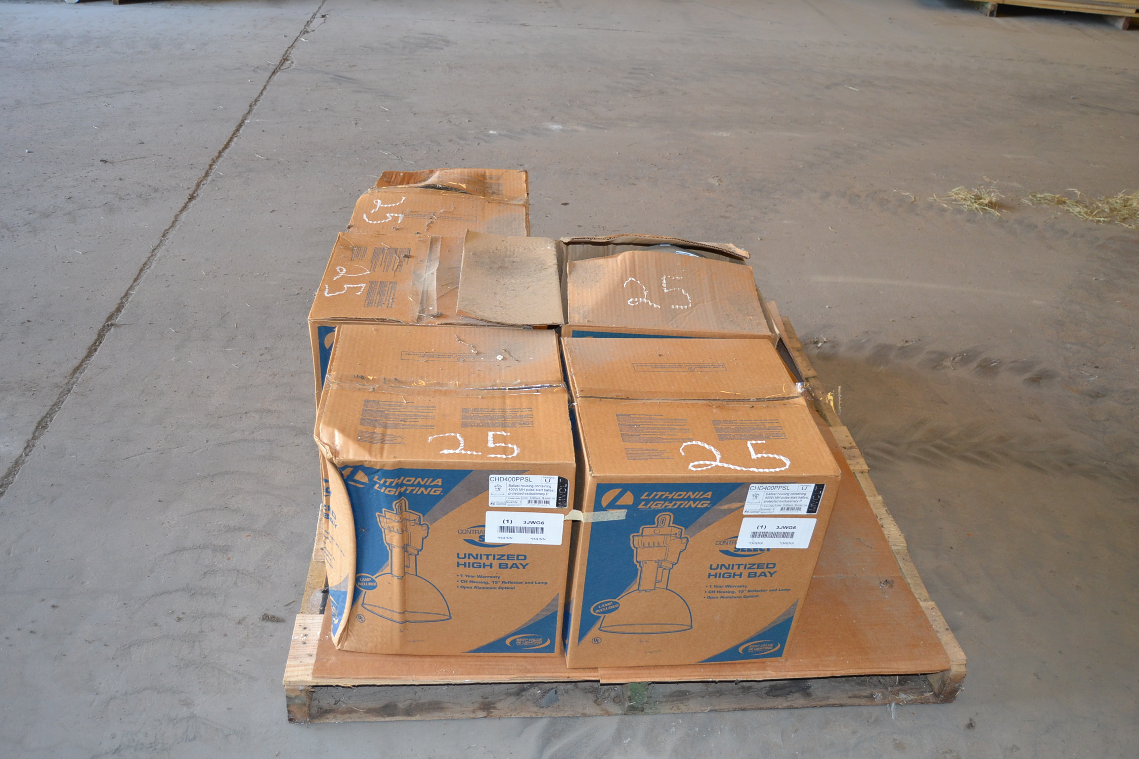 Lot 25 - PALLET OF NEW LIGHTS