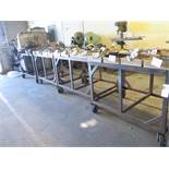 "36"" x 48"" Steel Rolling Tables (4) (SOLD AS-IS - NO WARRANTY)"