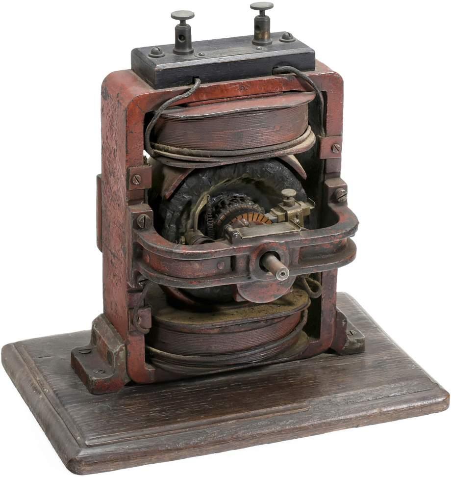 early aeg electric motor c 1890 allgemeine elektricit ts. Black Bedroom Furniture Sets. Home Design Ideas