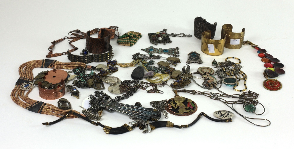 Lot 57 - Jewellery: A large collection of Eastern, & South American Costume jewellery,