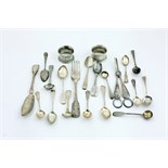 Silver: Mixed Collection, including an Irish silver Butter Knife, large Irish silver Dinner Forks,