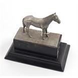 Lot 35 - A small silver Equestrian Trophy, Dublin c.