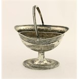 A good late George III Irish silver Sugar Helmet, with ribbed swing handle,