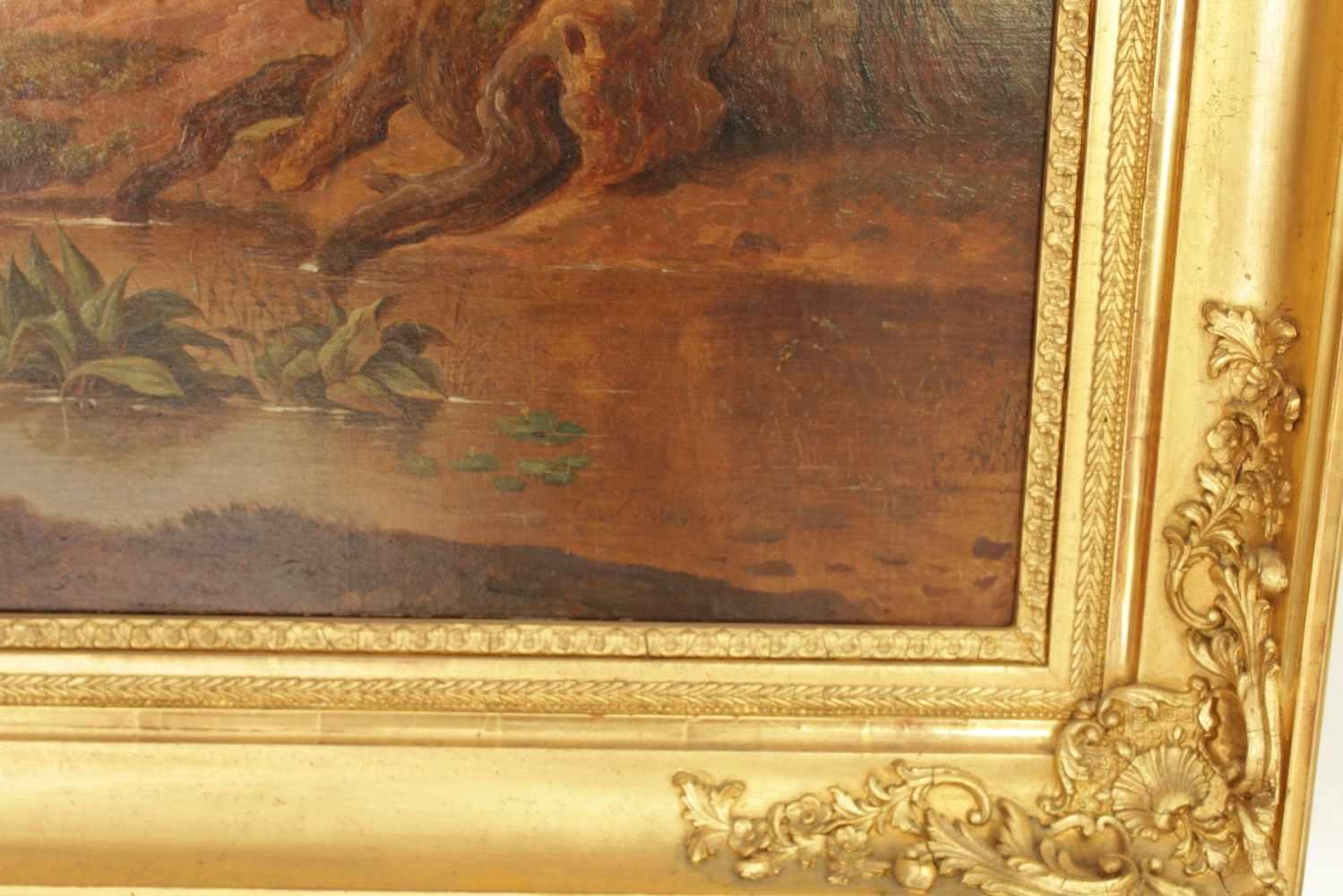 DEUTSCHER SOMMERTRAUM Carl Ludwig Frommel (1789 - 1863), Öl auf Leinwand, 102 x 74 cm, in - Image 2 of 2